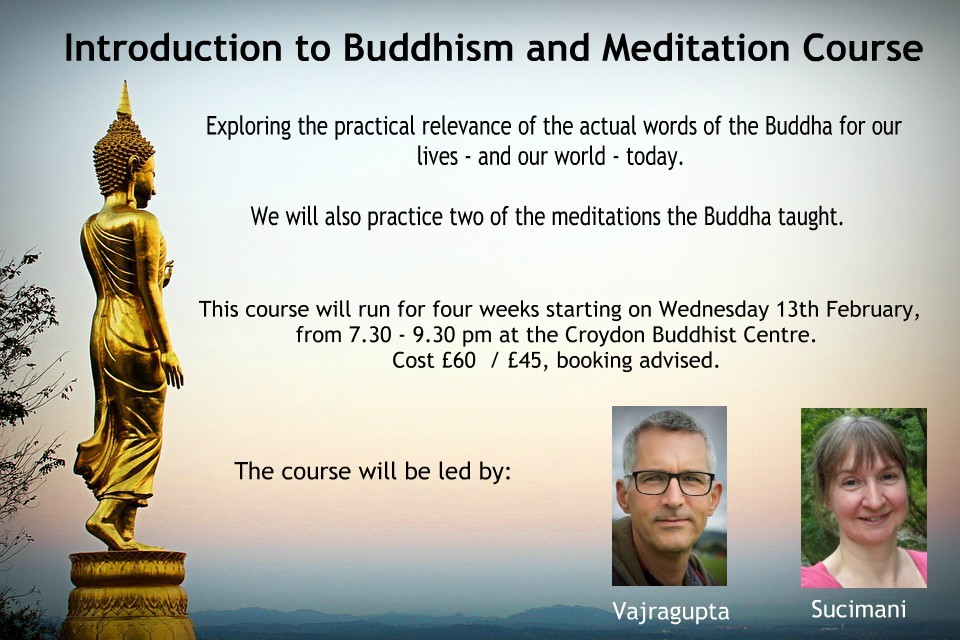 Introduction to Buddhism and Meditation Course - 4 weeks