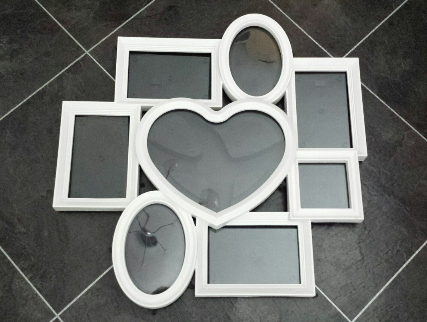 multi heart collage picture frame home furniture diy adverts just croydon