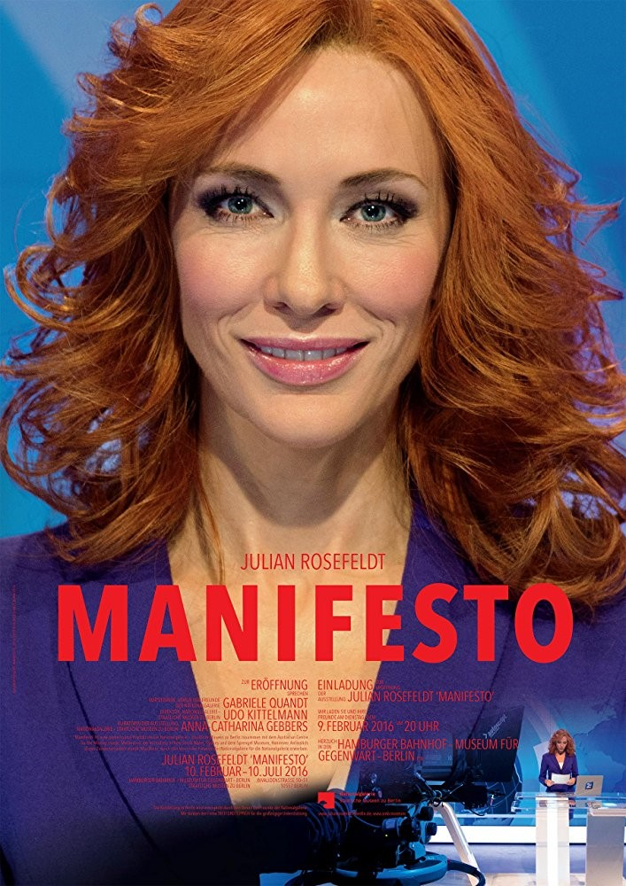 MANIFESTO (15) - 2015 Germany 95 min