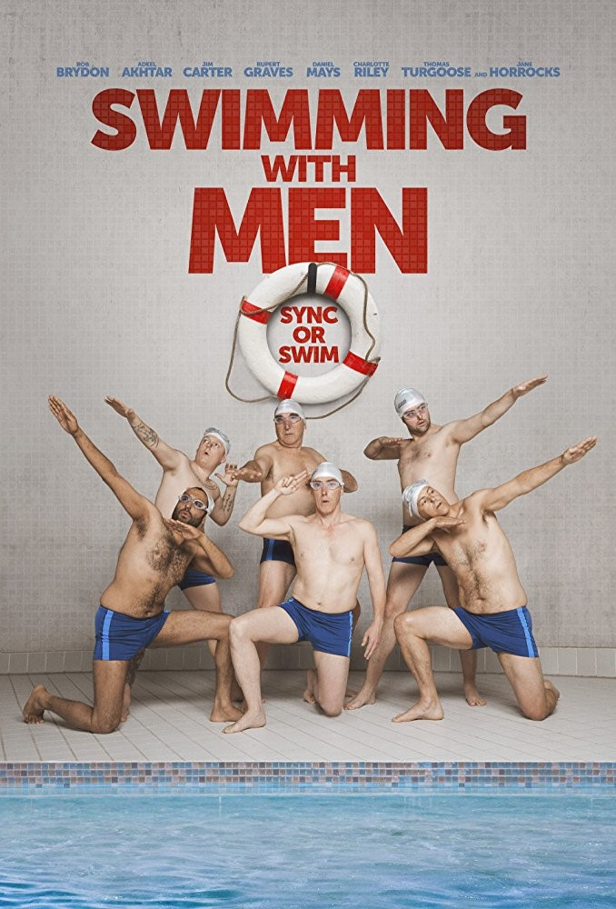 SWIMMING WITH MEN (12A) - 2018 UK 96 min