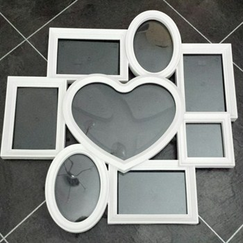 Multi Heart Collage Picture Frame