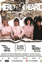 HERE TO BE HEARD: THE STORY OF THE SLITS (15) - 2017 UK 86 min, plus live Q&A